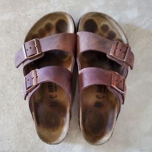 Birkenstock arizona leather in habana